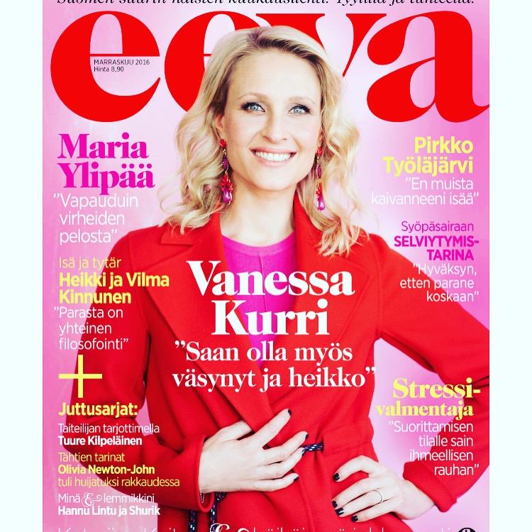 Eeva-lehden juttu marraskuu 2016